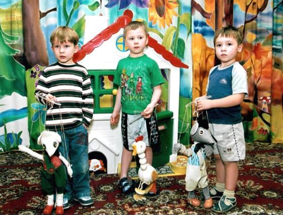 Кукольный театр - детям. Театр марионеток