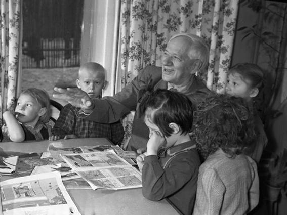 Корней Иванович Чуковский. Конспект НОД по развитию речи детей старшего дошкольного возраста