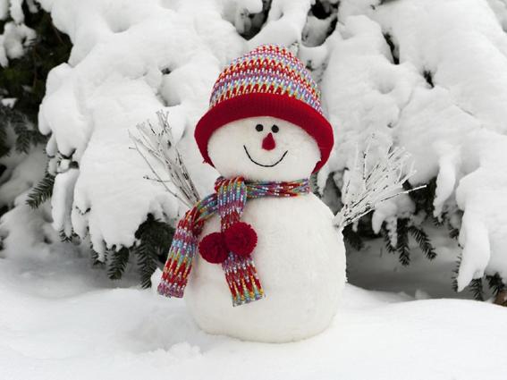 Зимние забавы. Занятие для детей средней группы