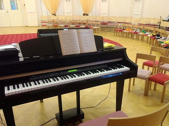 Музыкальная развивающая предметно-пространственная среда АНО «Павловская гимназия» (д. Веледниково)