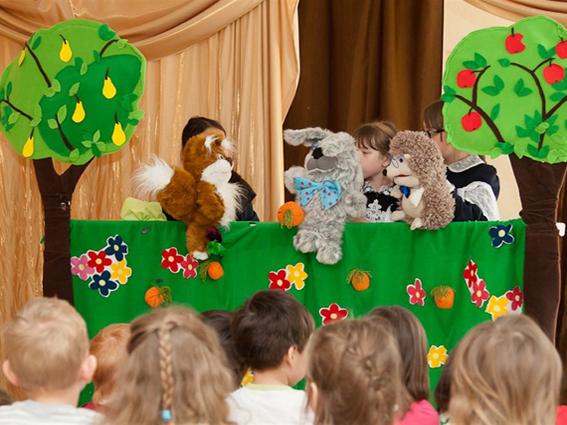 Развитие художественно-творческих способностей детей 6-7 лет средствами театрализованных игр