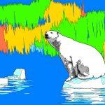 Раскраска_Белый_медведь_Page_2