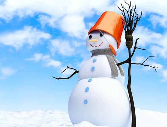Снежный гость. Комплексное занятие в средней группе